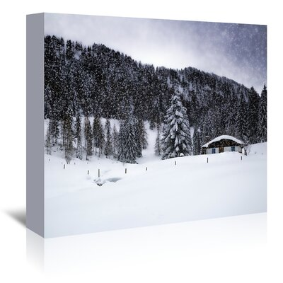 Americanflat 'Germany Bavarian Winter's Tale VIII' by Melanie Viola Photographic Print Wrapped on Canvas