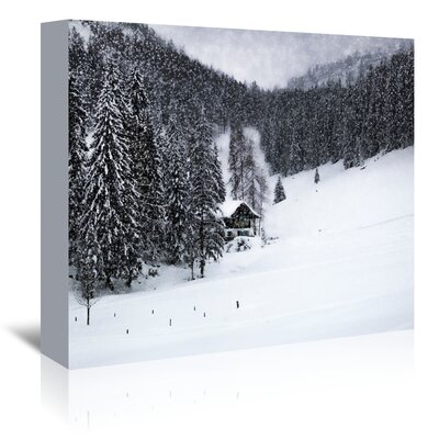Americanflat 'Germany Bavarian Winter's Tale IX' by Melanie Viola Photographic Print Wrapped on Canvas
