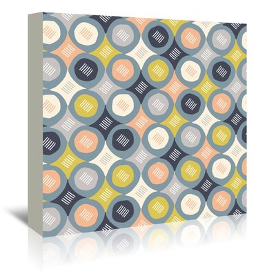 Americanflat 'Prismatic 2' by Beth Schneider Graphic Art Wrapped on Canvas