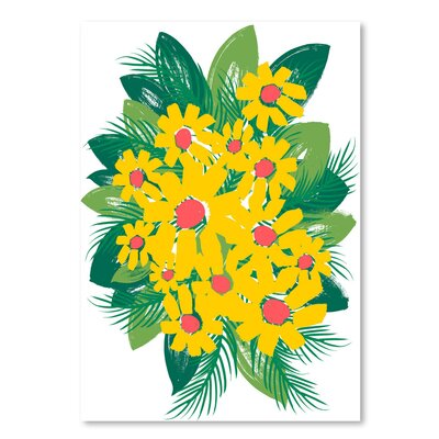 Americanflat 'Sunburst Bouquet' by Kevin Brackley Art Print
