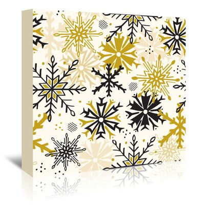 Americanflat 'Mod Holiday 2' by Beth Schneider Graphic Art Wrapped on Canvas