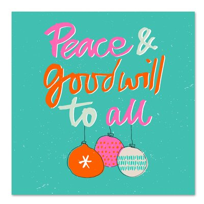 Americanflat 'Peace' by Emma McGowan Typography