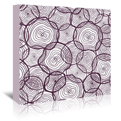 Americanflat 'Mark It Up' by Beth Schneider Graphic Art Wrapped on Canvas