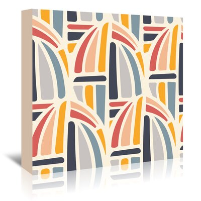 Americanflat 'Kaleidoscope 2' by Beth Schneider Graphic Art Wrapped on Canvas