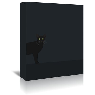 Americanflat 'Blackcat' by Jorey Hurley Graphic Art Wrapped on Canvas