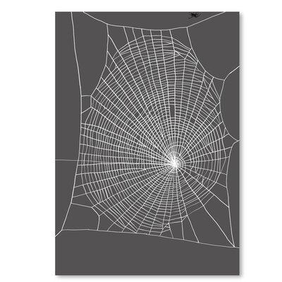 Americanflat 'Spiderweb 2' by Jorey Hurley Graphic Art