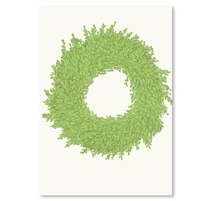 Americanflat 'Wreath' by Jorey Hurley Graphic Art