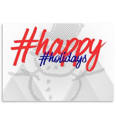 Americanflat 'Happy Holidays' by Melanie Viola Typography