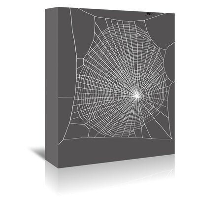 Americanflat 'Spiderweb 2' by Jennifer Goldberger Graphic Art Wrapped on Canvas