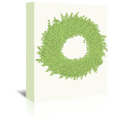 Americanflat 'Wreath' by Jorey Hurley Graphic Art Wrapped on Canvas