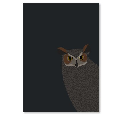Americanflat 'Owl' by Jorey Hurley Graphic Art