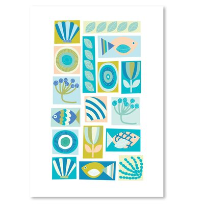 Americanflat 'Under the Sea' by Jocelyn Proust Graphic Art