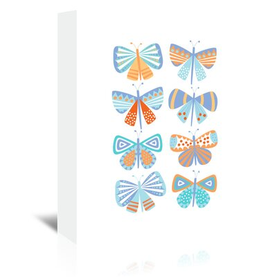 Americanflat 'Butterflies' by Jocelyn Proust Graphic Art Wrapped on Canvas
