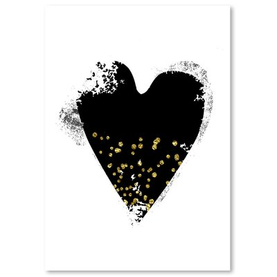 Americanflat 'Heart 6' by Ikonolexi Graphic Art