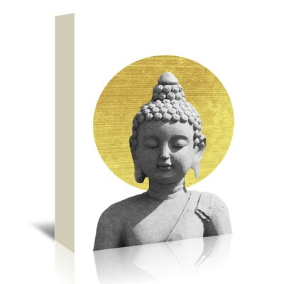 Americanflat 'Buddha' by Ikonolexi Graphic Art Wrapped on Canvas