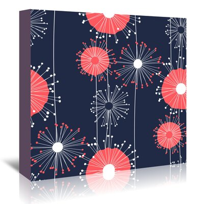 Americanflat 'Vivid Colour Dandelions' by Kevin Brackley Graphic Art Wrapped on Canvas