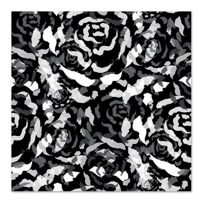 Americanflat 'Black Rose Bouquet' by Kevin Brackley Graphic Art