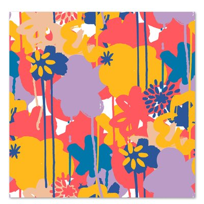 Americanflat 'Brushed Bouquet' by Kevin Brackley Graphic Art