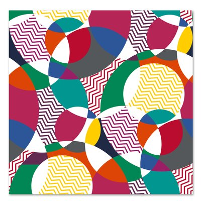 Americanflat 'Beach Balls Vivid' by Kevin Brackley Graphic Art