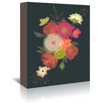 Americanflat 'Edwardian Bouquet' by Emma McGowan Graphic Art Wrapped on Canvas