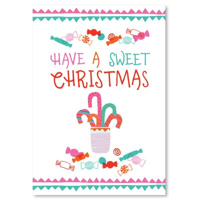 Americanflat 'Sweet Christmas' by Emma McGowan Graphic Art