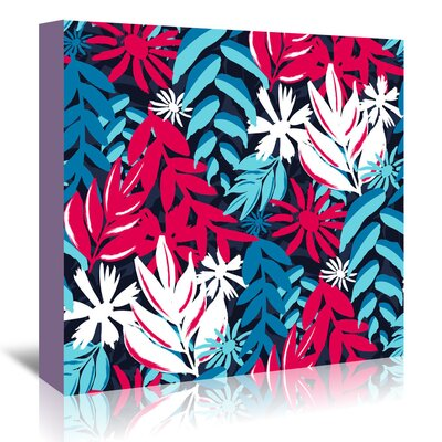 Americanflat 'Havana Tropics' by Kevin Brackley Graphic Art Wrapped on Canvas