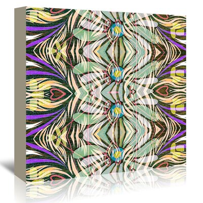 Americanflat '16B10 Blend' by Marian Nixon Graphic Art Wrapped on Canvas