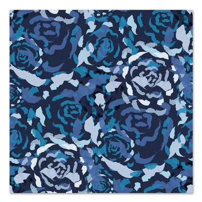 Americanflat 'Blue Rose Bouquet' by Kevin Brackley Graphic Art