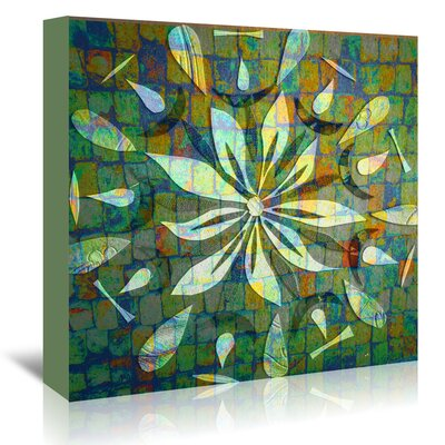 Americanflat '16B02 Blend' by Marian Nixon Graphic Art Wrapped on Canvas