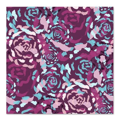 Americanflat 'Plum Rose Bouquet' by Kevin Brackley Graphic Art