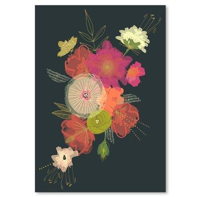 Americanflat 'Edwardian Bouquet' by Emma McGowan Graphic Art