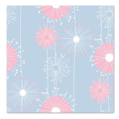 Americanflat 'Pastel Blue Dandelions' by Kevin Brackley Graphic Art