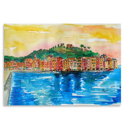 Americanflat 'Picturesque Portofino Ligure Italy 2' by Markus Bleichner Art Print