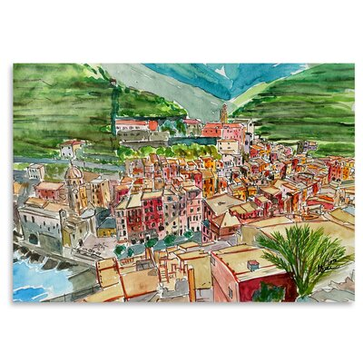 Americanflat 'Vernazza a Dream of Romantic Italy' by Markus Bleichner Art Print