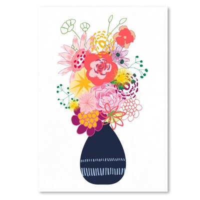 Americanflat 'Bouquet Painted' by Kevin Brackley Graphic Art