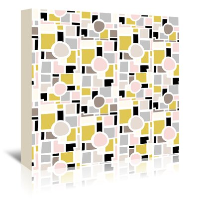 Americanflat 'New Again 5' by Beth Schneider Graphic Art Wrapped on Canvas