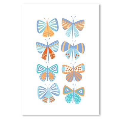 Americanflat 'Butterflies' by Jocelyn Proust Graphic Art