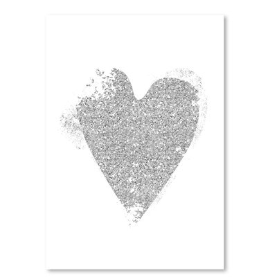 Americanflat 'Heart 5' by Ikonolexi Graphic Art