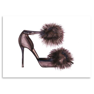 Americanflat 'PomPom Heels' by Alison B Graphic Art