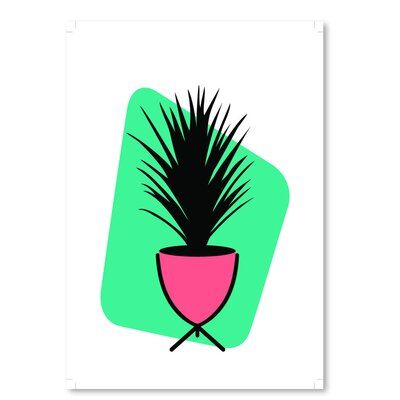 Americanflat 'Modern Botanicals Grass Plant' by Ashlee Rae Graphic Art