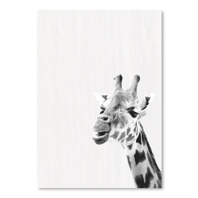 Americanflat 'Water Giraffe' by Ikonolexi Photographic Print