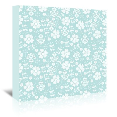 Americanflat 'Organic Floral' by Beth Schneider Graphic Art Wrapped on Canvas
