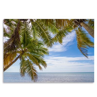 Americanflat 'Florida Lovely Oceanside' by Melanie Viola Photographic Print
