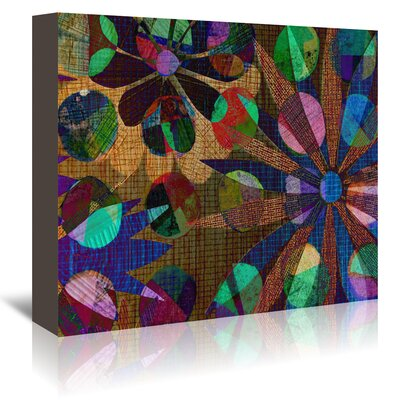 Americanflat '16B17 Blend' by Marian Nixon Graphic Art Wrapped on Canvas