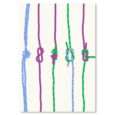 Americanflat 'Knots' by Jorey Hurley Graphic Art