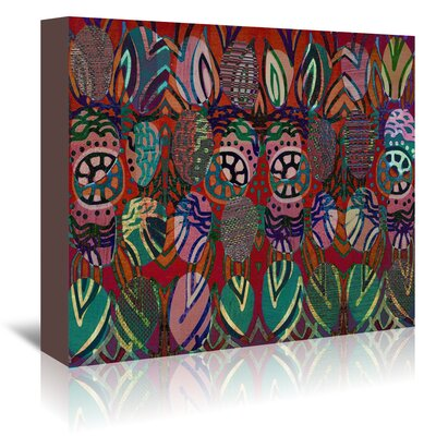 Americanflat '16B01 Blend' by Marian Nixon Graphic Art Wrapped on Canvas