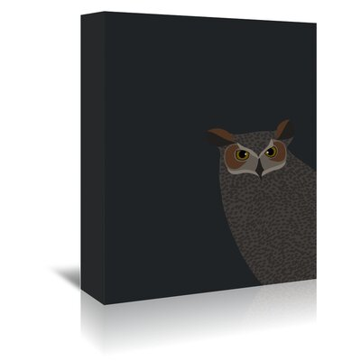 Americanflat 'Owl' by Jorey Hurley Graphic Art Wrapped on Canvas