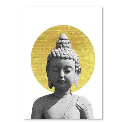 Americanflat 'Buddha' by Ikonolexi Graphic Art
