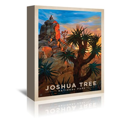 Americanflat 'Joshua Tree' by Anderson Design Group Vintage advertisement Wrapped on Canvas