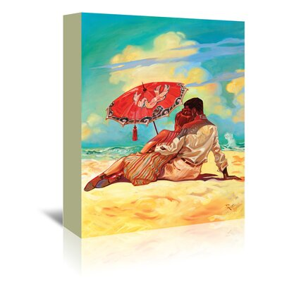 Americanflat 'Summer Love' by Anderson Design Group Art Print Wrapped on Canvas